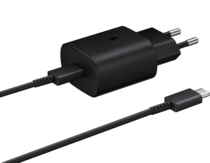 Samsung Fast Travel Charger 25W Type-C To Type C Μαύρο