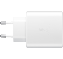 Samsung Fast Travel Charger 45W Type-C To Type C Λευκό