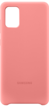 Samsung Silicone Cover A71 Pink