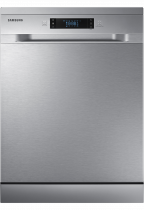 Freestanding Full Size Dishwasher with 14 Place Settings (front silver)
