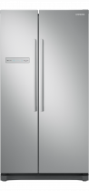 Flat Door All-Around Cooling Fridge, 566L (front silver)
