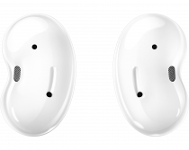 Galaxy Buds Live Mystic White (front Mystic White)