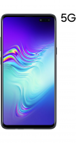 Galaxy S10 5G 256 GB Majestic Black (front black)