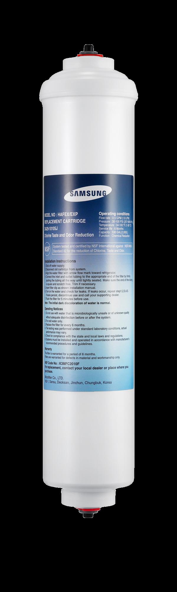 Samsung External Water Filter