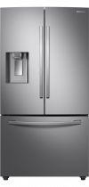 RF23R62E3SR/EU French Style Fridge Freezer with Twin Cooling Plus™ (front Titanium Silver)
