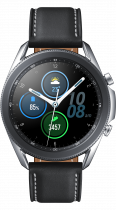 Galaxy Watch3 (45mm) Mystic Silver (front Mystic Silver)