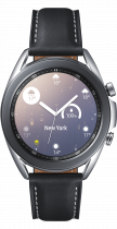 Galaxy Watch3 (41mm) Mystic Silver (front Mystic Silver)