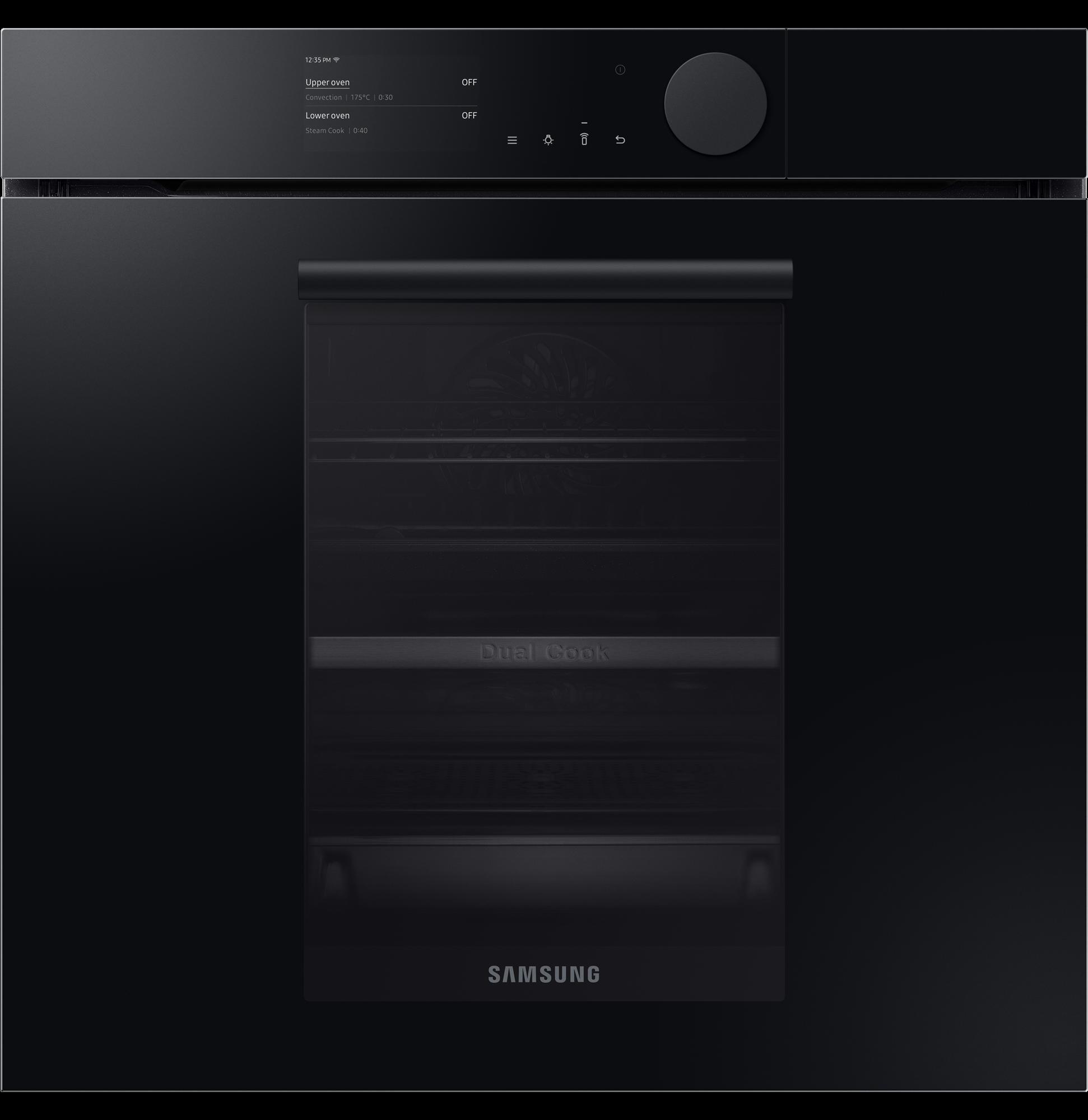 Samsung Infinite Range – Dual Cook Steam Nv75T8979Rk/Eu Black
