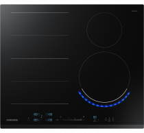 NZ6000K Induction Hob with Flex Zone Plus and Wi-Fi Connectivity Black (front black)