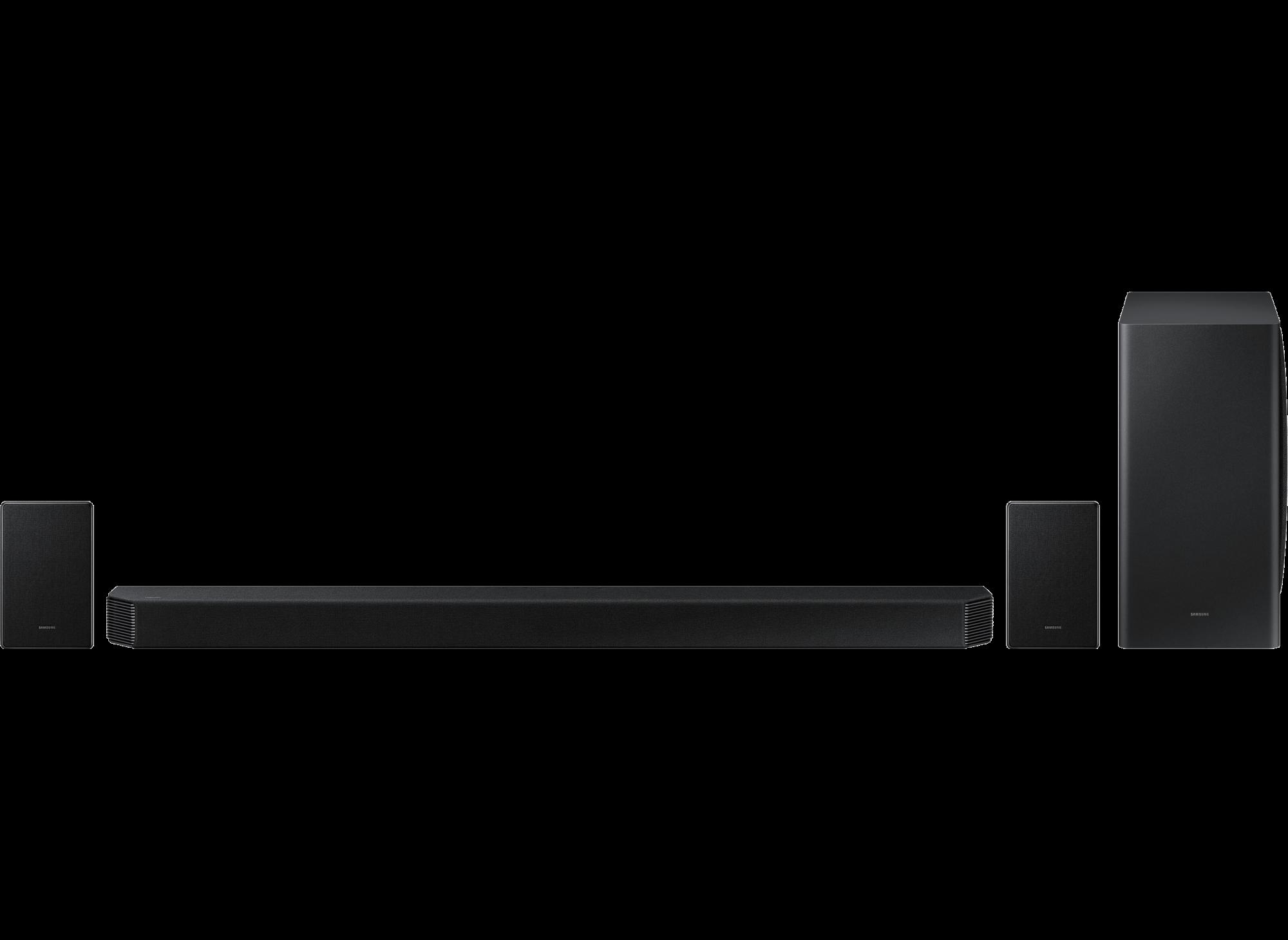 HW-Q950A 11.1.4ch Samsung Q-Symphony Cinematic Dolby Atmos with Rear Spe...