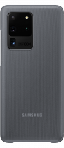Galaxy S20 Ultra Clear View Cover (back Grey)