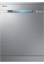 Freestanding Full Size Dishwasher with WaterWall™ Technology and Zone Booster ™ (front silver)
