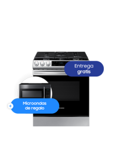 Cocina a Gas de acero inoxidable  Smart Slide-in Smart Series