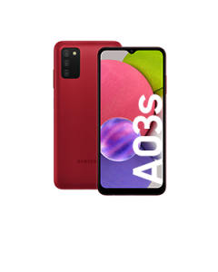 Galaxy A03s Red