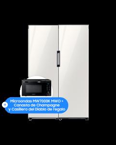 Bundle BESPOKE Flex Column Refrigerator and Freezer 322 Lts