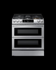 Cocina a Gas con Flex Duo™ y Smart Dial